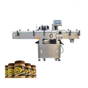 China High Accuracy Adhesive Bottle Sticker Labeling Machine For Peanut Butter Bottle on sale