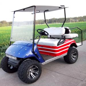 China 2 seater electric golf car  on sale