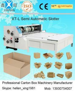 Quality A máquina de entalho da impressão do cortador da alimentação da placa de papel/corrugou a maquinaria da cartonagem for sale