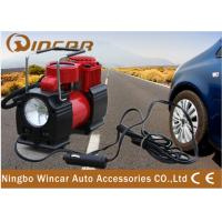 150PSI Portable Electric Air Compressor  12V Air Pump Led Work Light