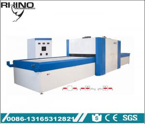 China Fully Automatic Vacuum Membrane Press Machine For PVC / Veneer Film Working on sale