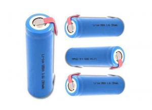 China Light Weight 3.7 V Li Ion Battery 18650 Rechargeable Battery For Shaver , High Energy Density on sale