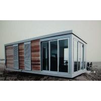 Flat Pack Low Cost Modular Sandwich Panel Prefab Container House