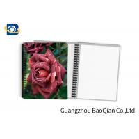 0.6mm PET Material Personalized Spiral Notebooks  3D Lenticular Stationery