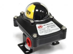 China Die Casting Aluminum Pneumatic Limit Switch For Electric Rotary Valve Actuator on sale