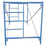 Q195 pre galvanized shoring frame H-frame scaffolding, Andamio