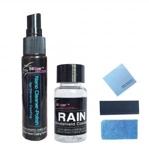 China nano coating for window coat nano liquid coating water repellent self cleaning shiny Nano Hydrophobic Coating on sale