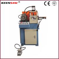 Single End Chamfering Machine For Metal Pipe / Tube / Solid Bar Chamfer and End Facing