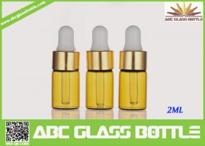 China Factory Sale 2ml Amber Tubular Glass Vial Oil Use on sale