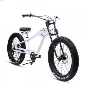 China long tail bike frame fat bike tire 26x4.0 26 inch chopper bike very good product. on sale