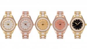 China New Sports Watch Fashion Geneva Ladies Women Girl Unisex Stainless Steel Quartz Wrist Watch on sale