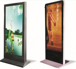 China Aluminum 55 inch Floor Standing P3 Led Advertising Player For Shopping Malls on sale