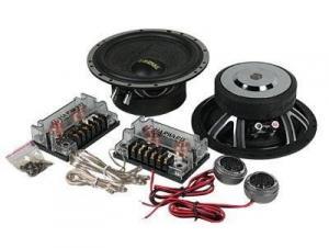 China 20KHZ Component Car Speaker, 4 Ohm , 75W Two Way Car Speaker Woofer on sale