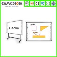 high quality wall mounted aluminum frame smart memo board