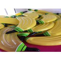 0.25mm PVC 180cm Yellow Color Melon Water Inflatable Water Floats Bnana Float