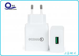 China 18W 1 - Port Smart USB Charger , Qualcomm Quick Charger 3.0 for X-mas Gift Promotion on sale