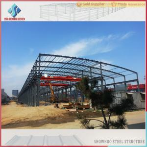 China Showhoo Steel Structure Types Of Construction Steel Structure Metal Shed Building Warehouse on sale