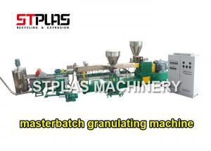 China High Efficiency Filler Masterbatch Production Line For Plastic Recycled PP PE on sale