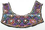 Cetim frisado personalizado da guarnição do pescoço de Brown para o vintage das mulheres sem mangas