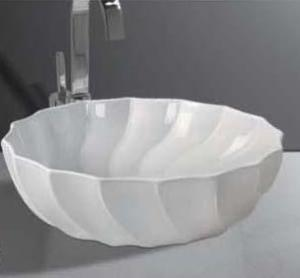 China Elegant design bathroom pedestal basin on sale