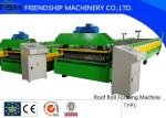 Automatic Motor Driven Colored Steel Roof Panel Roll Forming Machine With Film Coating