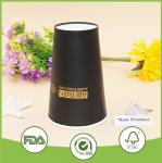 OEM/ODM 250ml Thick black Single wall paper cups