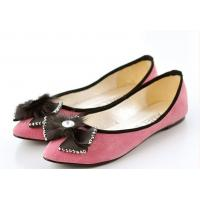 attractive genuine leather lady shoes