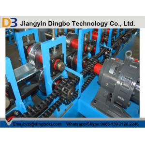 China Casting Steel Plate Rolling Machine , K Span Roll Forming Machine Gardens Use on sale