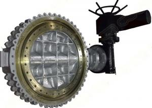 China Wafer Lugged API609 Butterfly Valve CF8M CF3M CF3 CF8 WCB Double Offset on sale