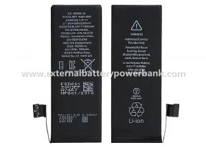 China 1560mAh Built-in Li-ion iPhone Replacement Batteries for Apple iPhone 5S on sale