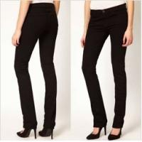 Black High-Rise women Jeans,skinny fit and five pocket styling