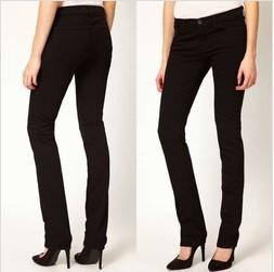 China Black High-Rise women Jeans,skinny fit and five pocket styling   on sale