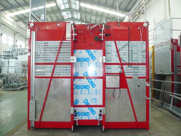 2700kg Personnel Hoist 3 0 x 1 3 x 2 5m for Electric Power