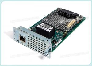 China Cisco Fourth-Generation NIM-1MFT-T1/E1 Multiflex Trunk Voice and WAN network interface module on sale
