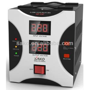 China Relay type AC Automatic Voltage Regulator on sale