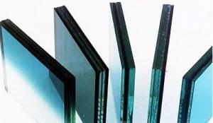 China Blue , Grey Architectural Pvb Laminated Safety Glass , Decorative Laminated Glass Panels on sale