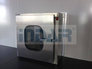 China Low Noise Stainless Steel Pass Box , GMP Static Pass Box With CE / UL on sale
