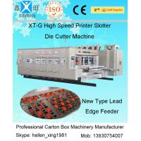 Automatic Carton Box Making Machine With Printing / Slotting And Die Cutting Function