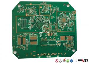 China ENIG Surface Finish Gps Tracker PCB , Immersion Gold Fr4 Rigid PCB Board on sale