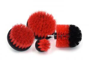 China Electric Drill Cleaning Brush / Drill Power Scrubber Nylon Filament Brush Set on sale