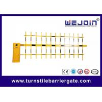 China Vehicle Access Security Barrier Gate , Parking Lot Swing Gates 8 Metes on sale