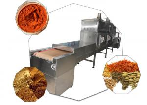 China Industrial Spice Pepper Microwave Drying Machine on sale
