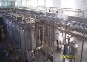 China Low Fat Milk Production Line Fruit Flavored UHT Dairy Processing Machinery on sale