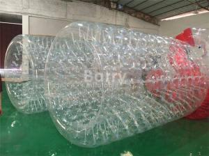 China Amusement And Outdoor Water Moving Ball , Inflatable Water Roller on sale