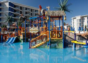 China Colorful Outdoor Aquatic Play Equipment 12m Height Fiberglass Slide on sale