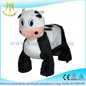 China Hansel high quality walking animal rides kid riding horse toy on wheels on sale