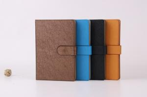 China Leatherette paper hard cover mounting notebook on sale