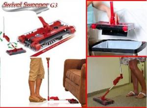 China factory price Swivel Sweeper G3 / Cordless Motorised Electronic Floor Sweeper Cleaner on sale