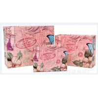 wholesale luxury paper shopping bag & custom printed paper bag, CMYK printing