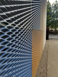 China cnc stainless steel panel metal exterior cladding on sale